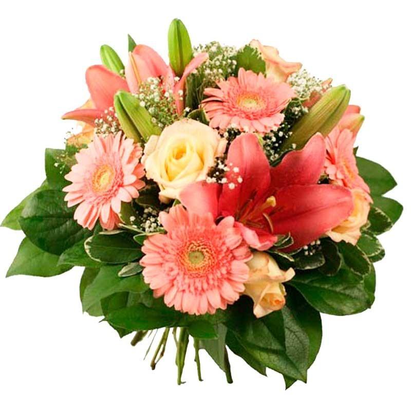 Ramos De Flores Gerberas Rosa