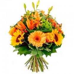 Ramo de Flores Naranja