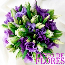 Ramo de Flores Con 20 varas de Lisianthus