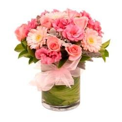 Flores en Florero para Nacimiento