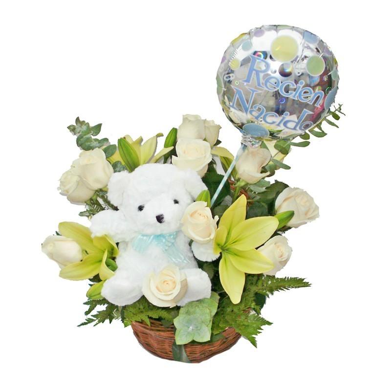 Flores Nacimiento Bebe