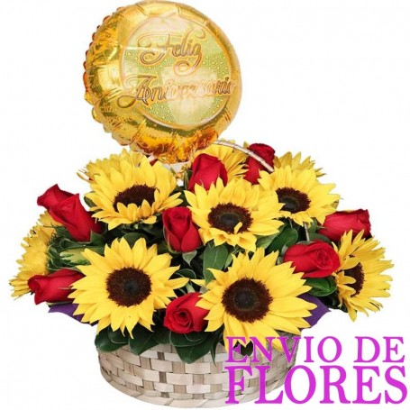 Flores Para Aniversario Bodas de Oro