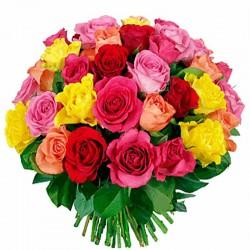 Ramos de Rosas Multicolor 24