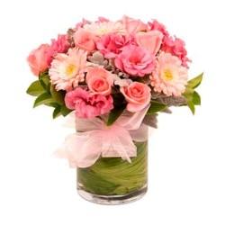 Florero Tonos Rosa